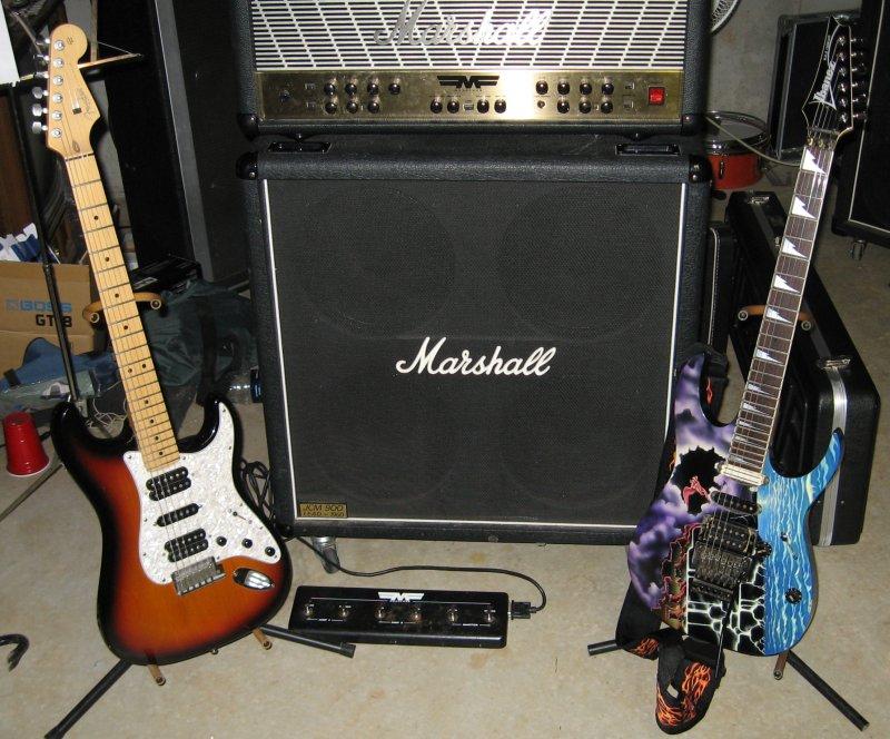 Russ's guitars